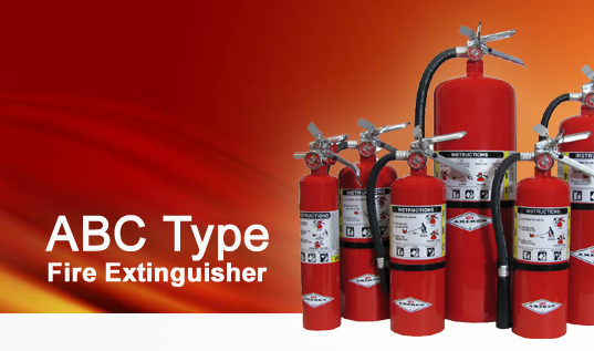 RPS ABC type Fire Extinguishers System